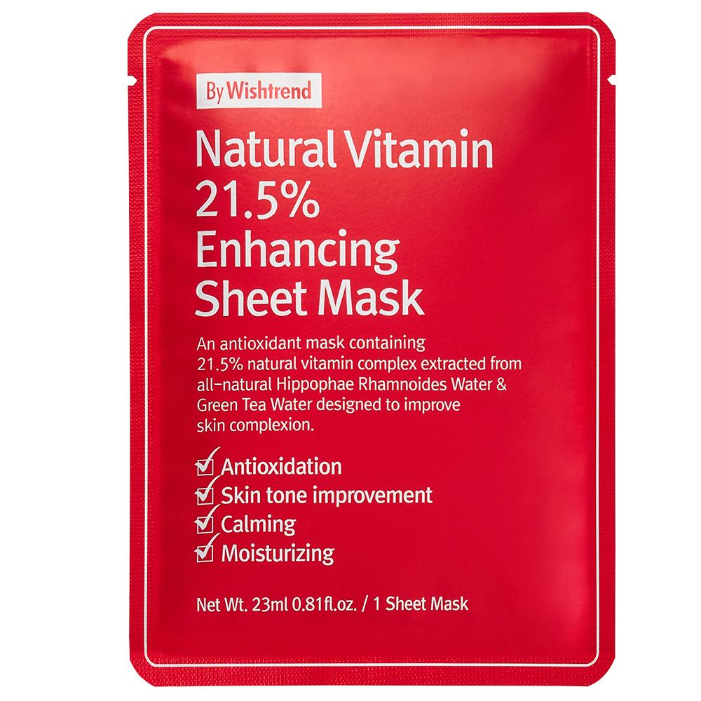 By Wishtrend Natural Vitamin C 21.5% Advanced Sheet Maske
