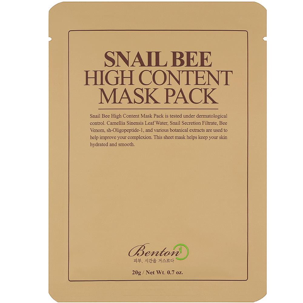 BENTON Snail Bee High Content  Tuchmaske
