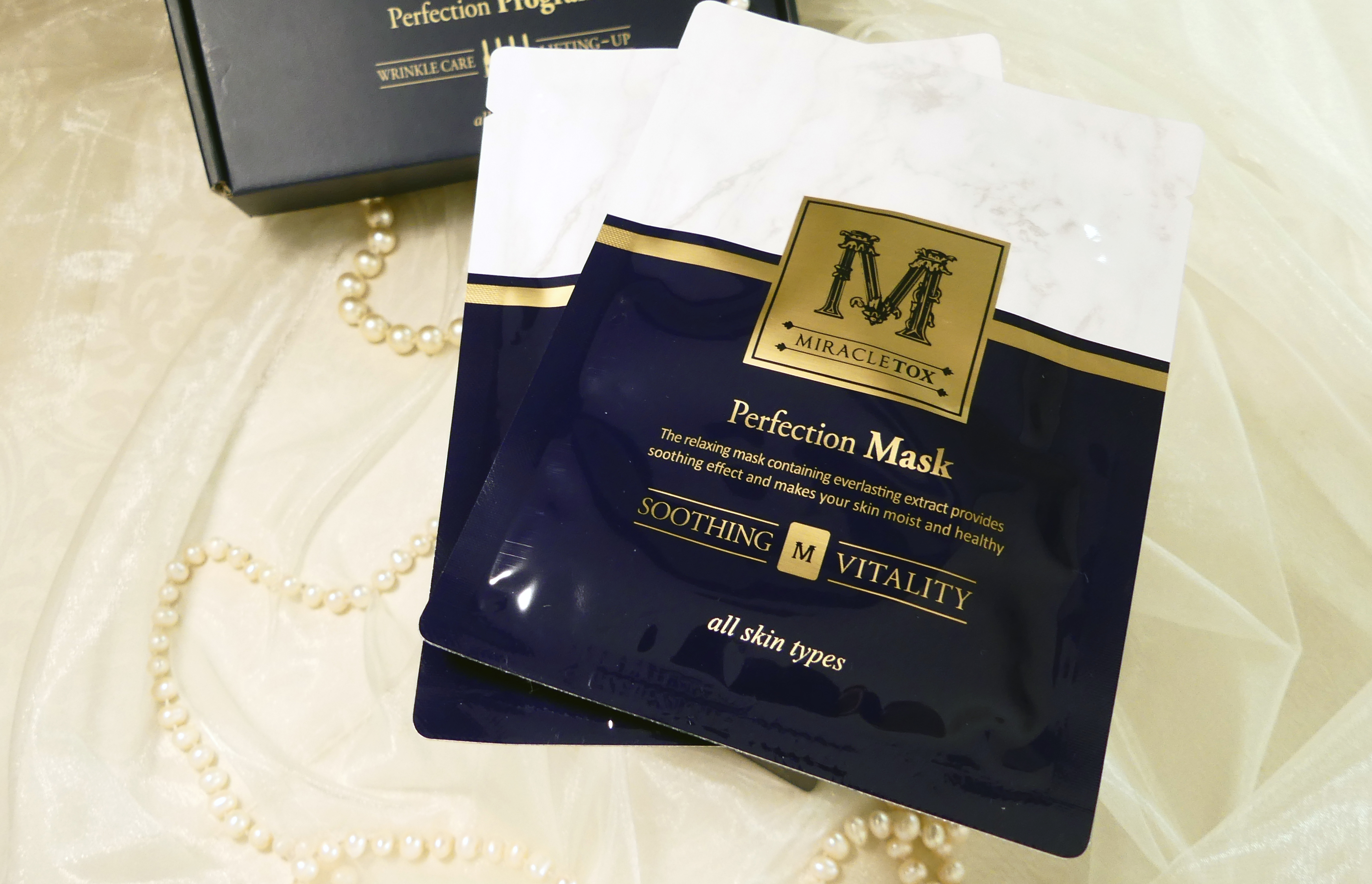 MIRACLETOX Perfection Mask Pack  (4 x 30 ml)