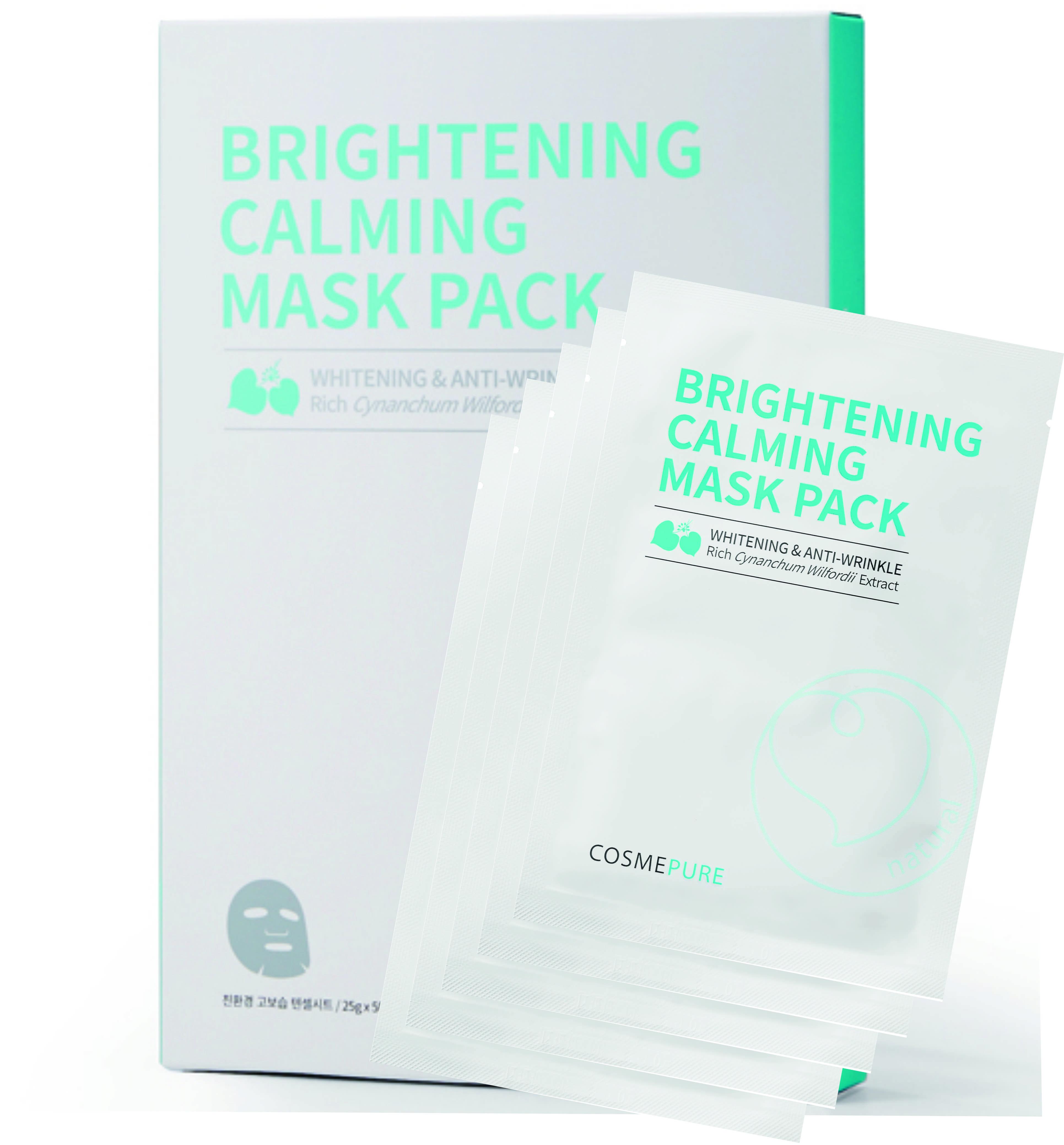 Cosmepure Brightening Calming Mask Pack