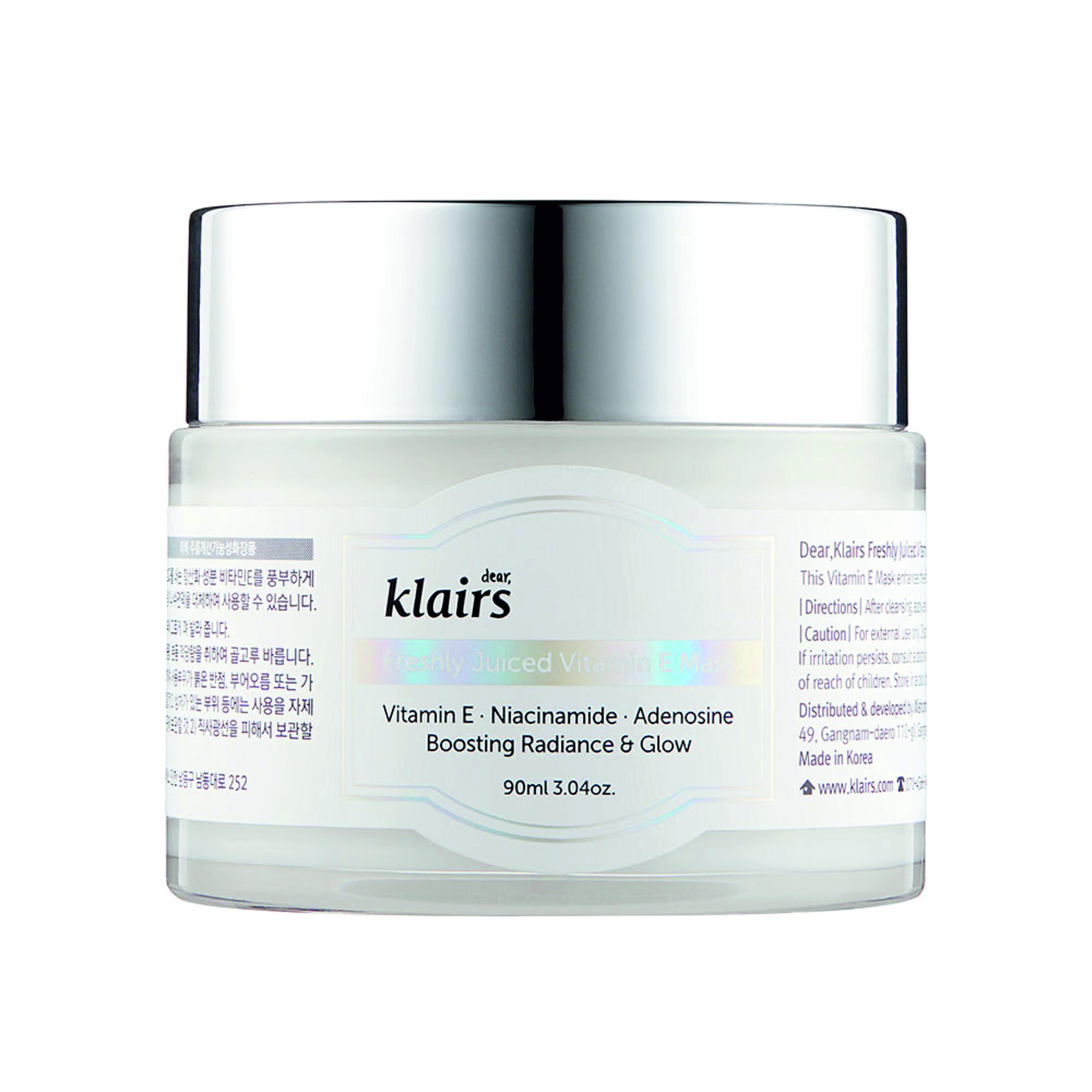 Dear Klairs Freshly Juiced Vitamin E Cream Mask